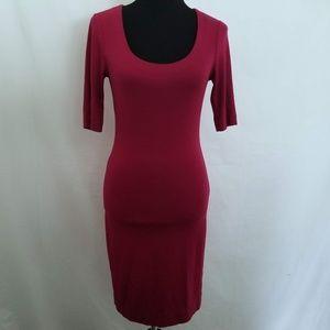 Diane Von Furstenberg Raquel Scoop Bodycon Dress